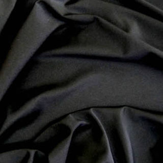 Black 1st Grade Shiny Nylon Lycra