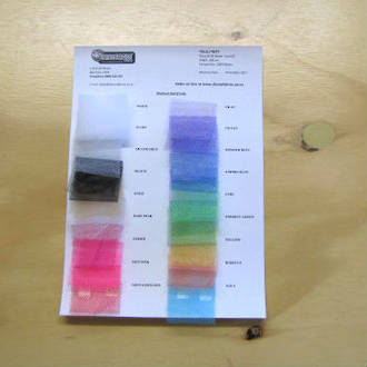 Ballet Nett and Ballet Tulle  Sample Chart