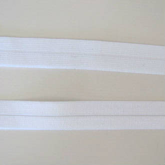 White Elastic Binding