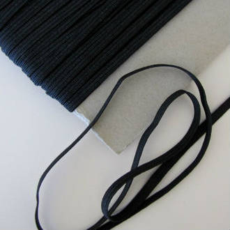 Black 9mm Elastic