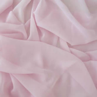 Light Pink Plain Chiffon 112cm